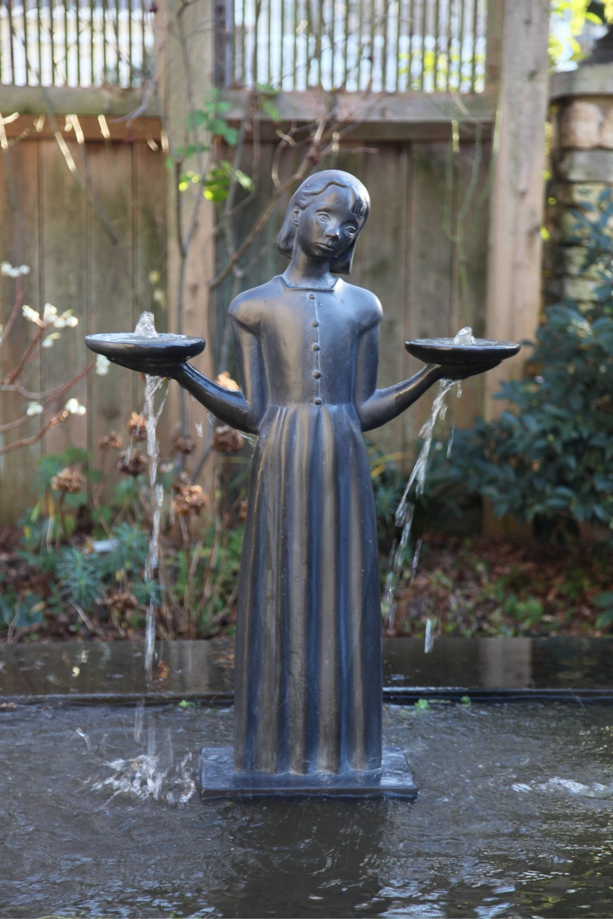 Bird Girl Fountain