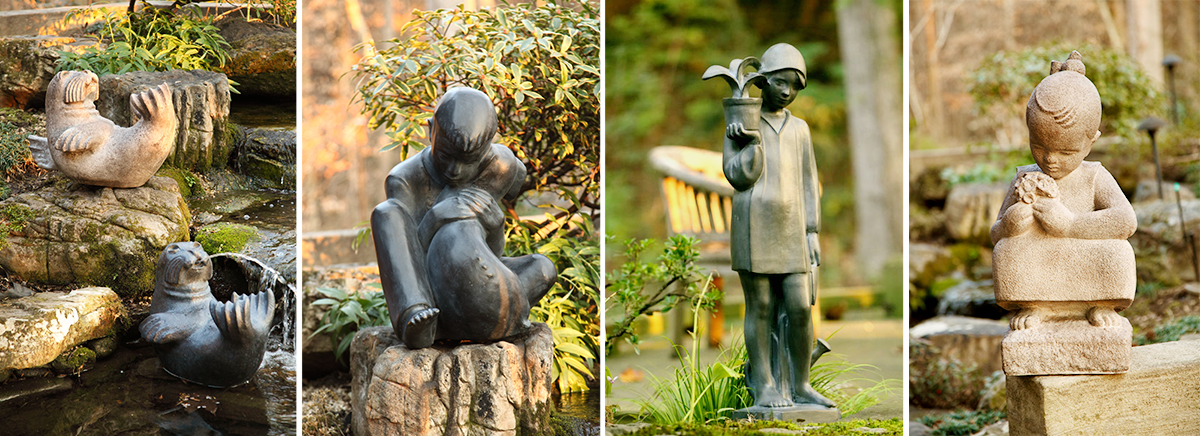 More Statues by Sylvia Shaw Judson